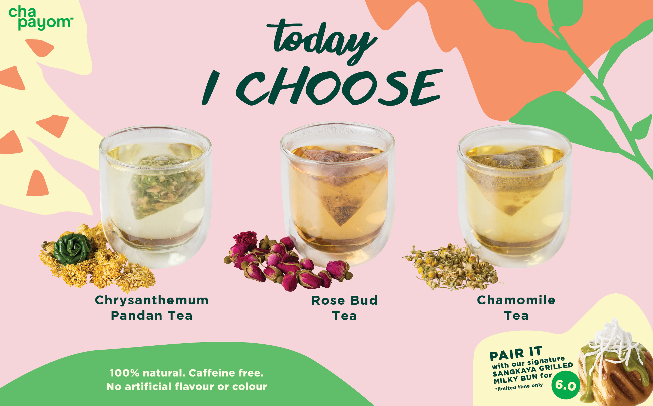 Chapayom Australia Herbal Tea Series