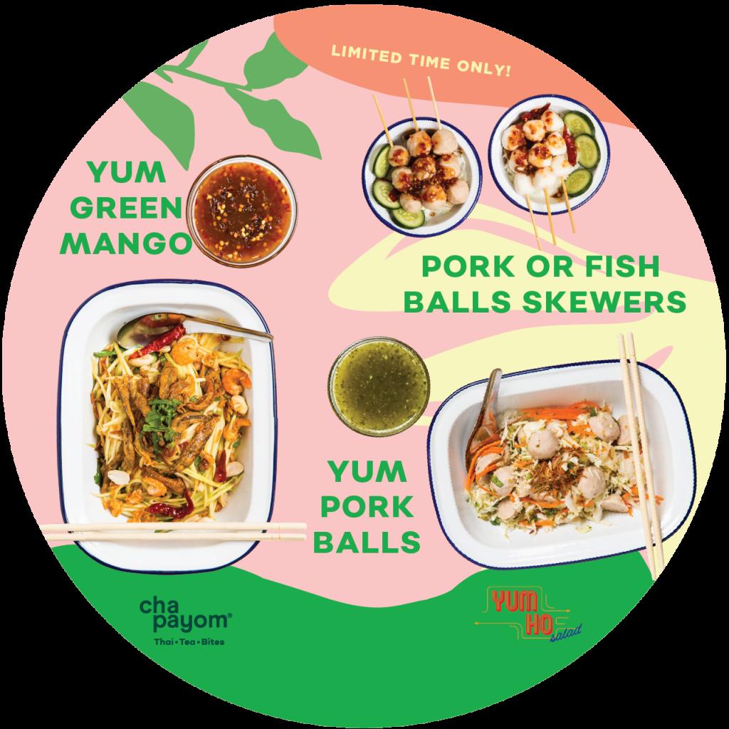 Chapayom Australia x Yum Ho Yum Thai Street Noodle Salad